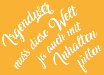 Newsletter, Blog-Posts, Websitetexte für Kulturbetriebe und KMU